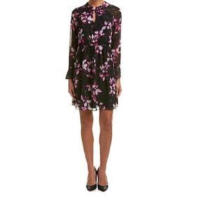 Cynthia Steffe 'Cara' Pleated Floral Dress